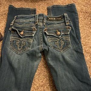 Rock revival size 27 boot cut jeans